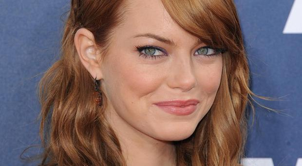 Emma Stone has finished filming on the new Spider-Man film