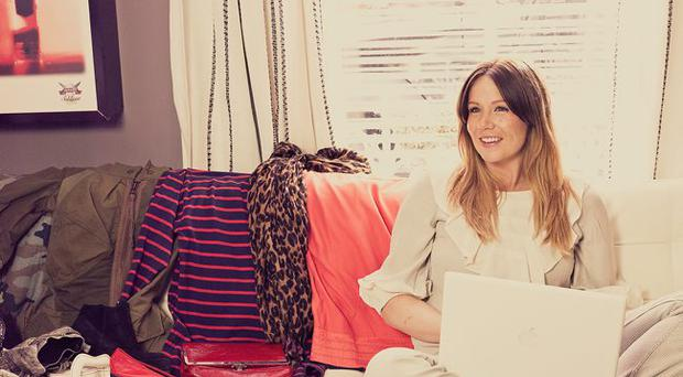 Style guru: Lynn McInnes is inspired by those with an individual look like model Kate Moss