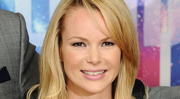 Amanda Holden is recovering following a road accident