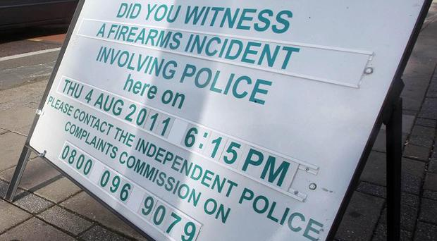 Appeal to the public asking if they witnessed Mark Duggan's death in Tottenham on August 4