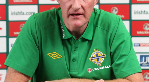 Under fire: Nigel Worthington
