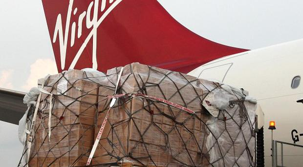 Emergency aid from Uncief is loaded on to a flight to Nairobi to transport goods to Somalia
