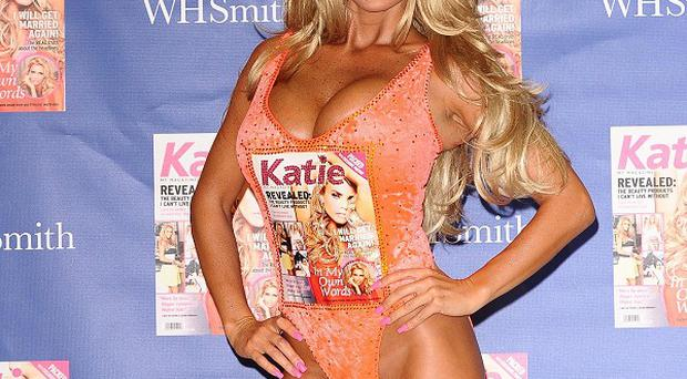 Katie Price says she hasn't ruled out having more kids