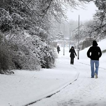 Northern Ireland hit by heavy snowfall in 2010