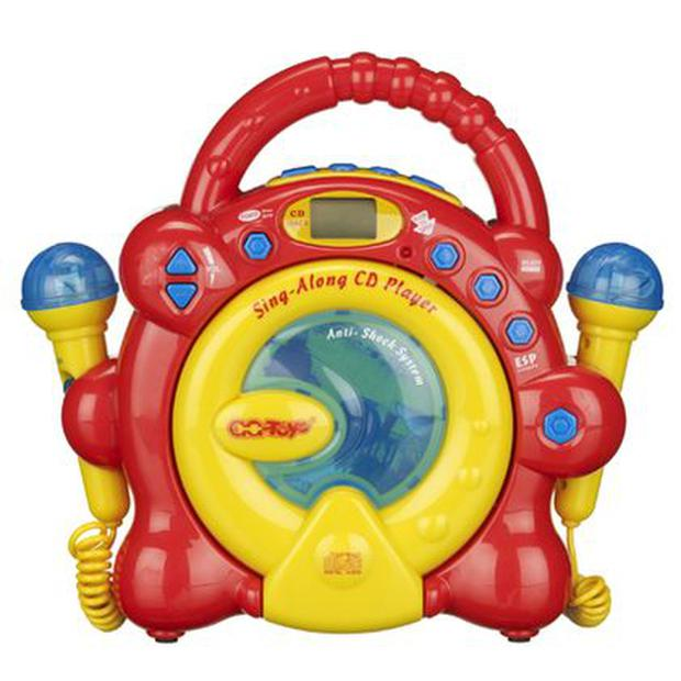 <b>1. John Lewis</b> This CD player not only enables kids to listen to their favourite music, but to sing along as well. With two detachable microphones included, they can invite friends round for a go too. 4+ <b>Price:</b> £40, johnlewis.com