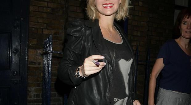 Amanda Holden was doing the school run when the accident took place