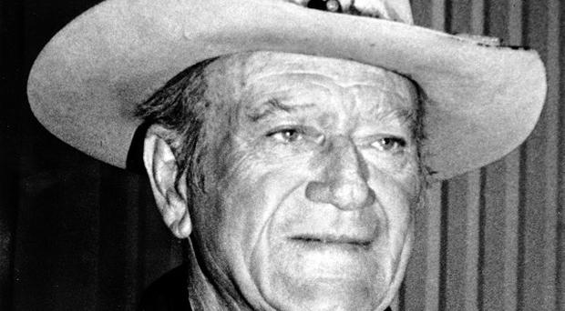 John Wayne fans will have the chance to buy memorabilia including cowboy hats and a True Grit eye patch