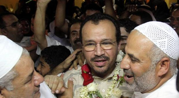 Dr Ali al-Ekri was one of the medical workers released from jail