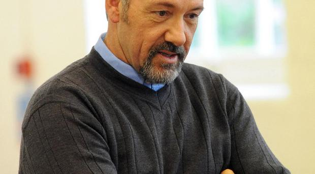 Kevin Spacey hopes to inspire people and raise money for a good cause