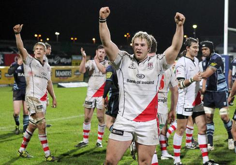 Ulster's Paddy McAllister is hoping he can cement his place in the side with a run of good form