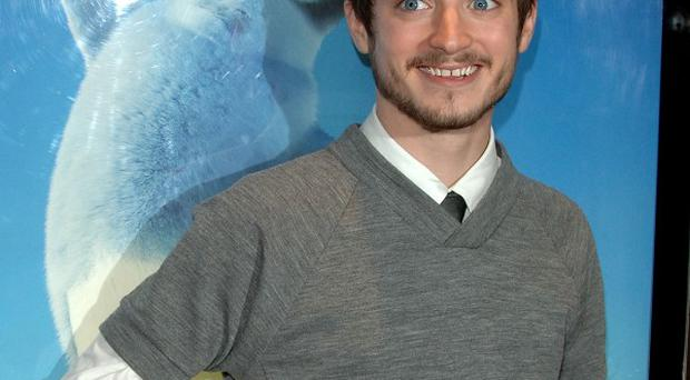 Elijah Wood has been busy working on The Hobbit