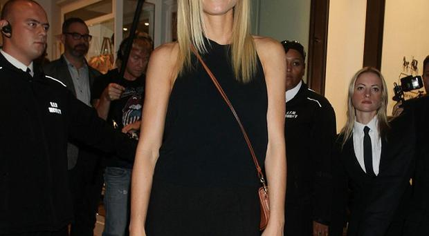 Gwyneth Paltrow was spotted visiting the Coach store