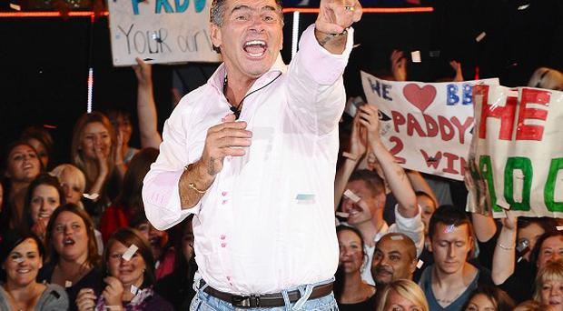 Paddy Doherty said he was himself in the Celebrity Big Brother house