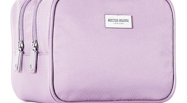 <b>1. Molton Brown </b><br/> This elegant but durable lilac washbag come with two separately zipped sections. Better still, it comes already packed with a range of Molton Brown's luxurious toiletries, including travel-sized facial wash and lili 'pili' shampoo. <b>£46, </b>moltonbrown.co.uk