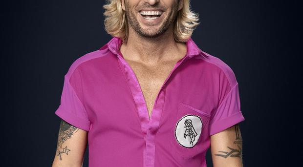 Robbie Savage has admitted he's the underdog on the show