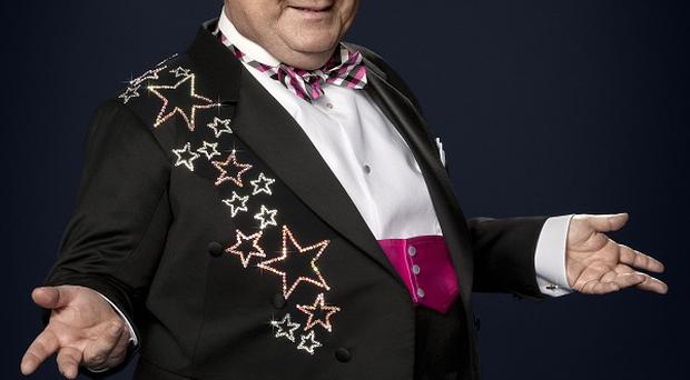 Russell Grant's career began in showbusiness before astrology