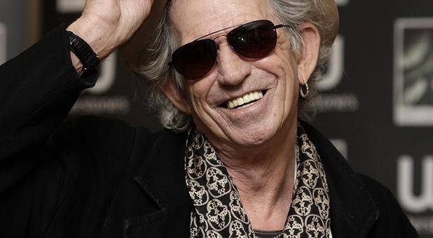Keith Richards received a GQ gong for his autobiography
