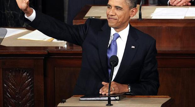 President Barack delivers a speech to a joint session of Congress (AP)