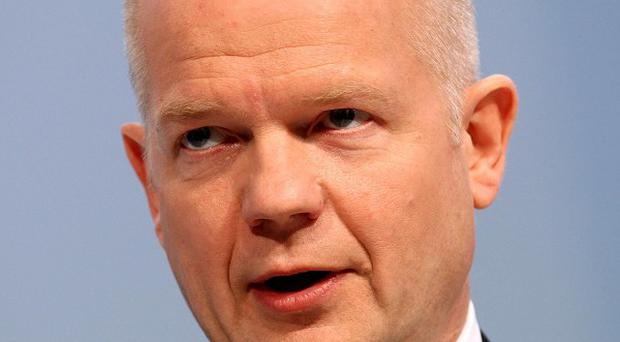 William Hague believes Britain could 'get ahead' by loosening its ties with Europe, a report in The Times says