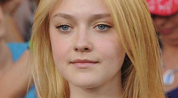Dakota Fanning coped well with an English accent