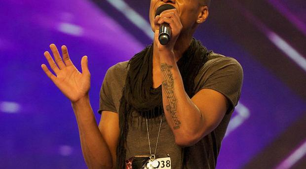 Andrew Lascel wows the judges in The X Factor