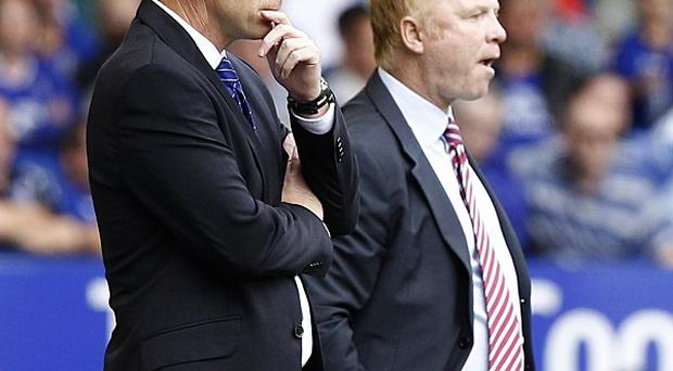 David Moyes (left) and Alex McLeish