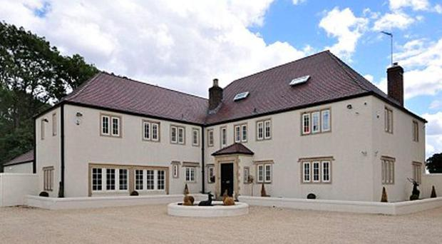 This is the 'haunted' mansion which Tony McCoy has put up for sale