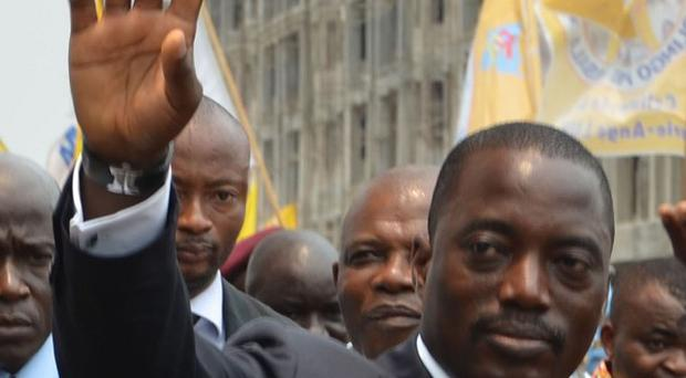 DR Congo President Joseph Kabila is going to run in the elections (AP0