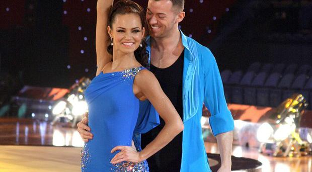 Kara Tointon is fine with the idea of boyfriend Artem Chigvintsev having a new partner in Strictly