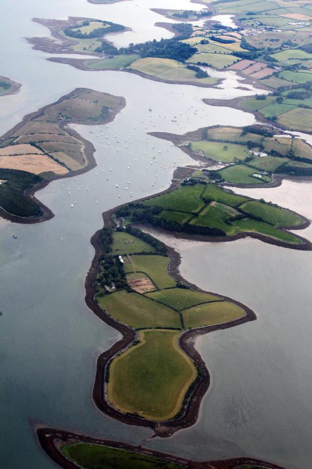 Feels like home: Strangord Lough shows the best side of the country
