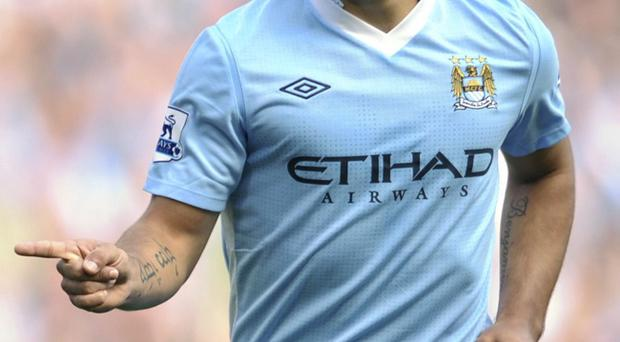 Sergio Aguero's form has evoked memories of his father-in-law