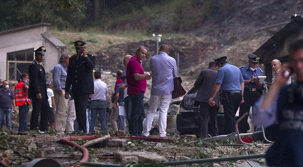 Six people have died in a blast at a fireworks factory in Italy (AP)