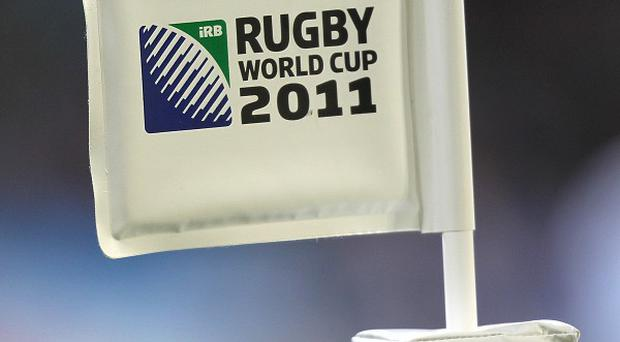 Rugby World Cup corner flag