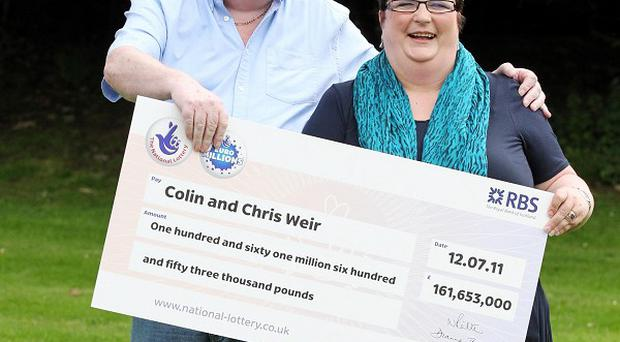 Colin and Chris Weir are the UK's biggest ever lottery winners