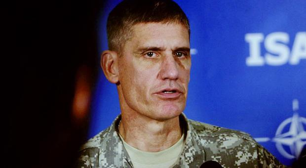 General David Rodriguez took over as head of US Army Forces Command (AP)