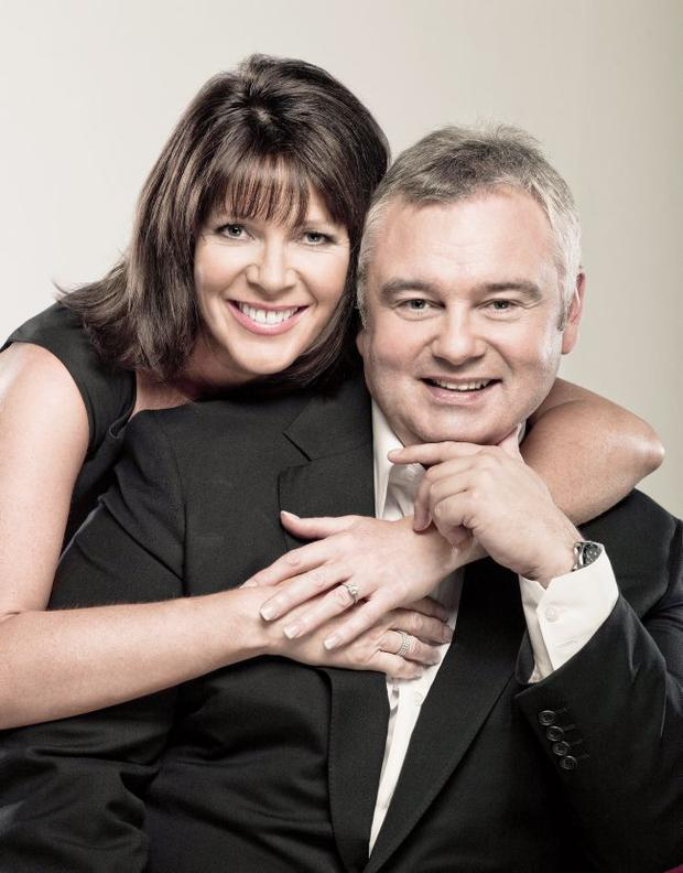 TV This Morning 1...Undated Handout Photo of presenters of ITV's This Morning, Eamonn Holmes and Ruth Langsford. See PA Feature TV This Morning. Picture credit should read: PA Photo/Handout. WARNING: This picture must only be used to accompany PA Feature TV This Morning....F