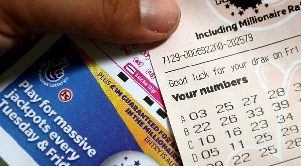 A 'millionaire map' shows hotspots for lottery winners