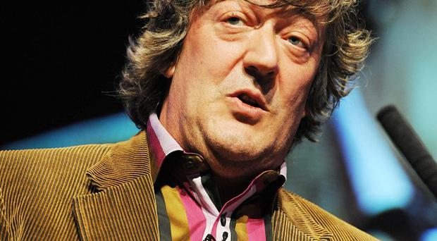 Stephen Fry said he is looking forward to fronting the awards