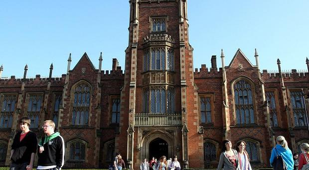 Queen's University has yet to set fees for students coming from the rest of the UK