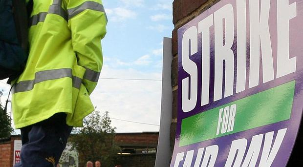 A winter of strikes is on the cards following a debate at the TUC conference