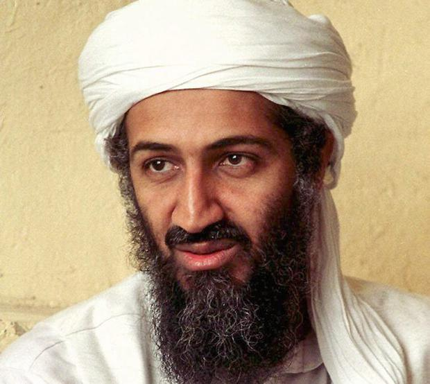 This April 1998 file photo is thought to show exiled al Qaida leader Osama bin Laden in Afghanistan