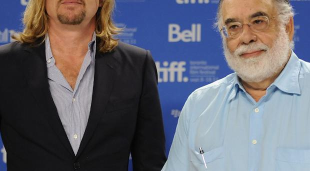 Francis Ford Coppola got emotional when talking about his son's death