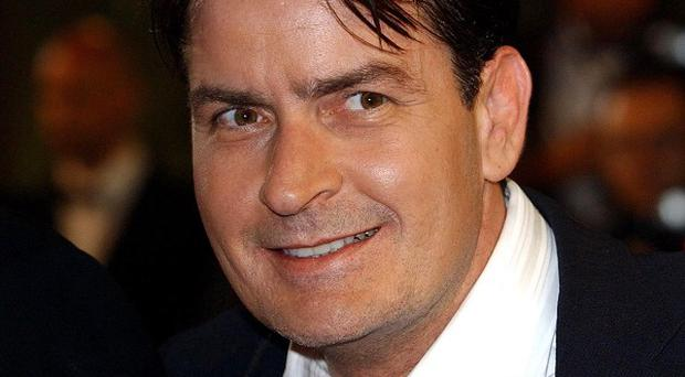 Charlie Sheen told fans his future is looking bright
