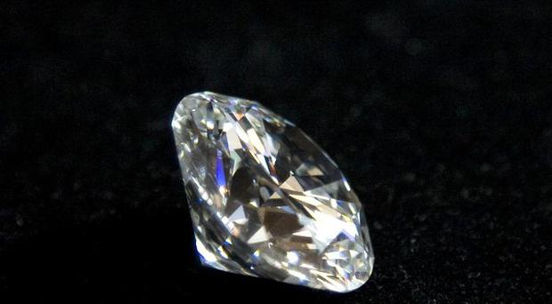 Diamond geezer; A thief swallowed a diamond he had taken after being caught by police