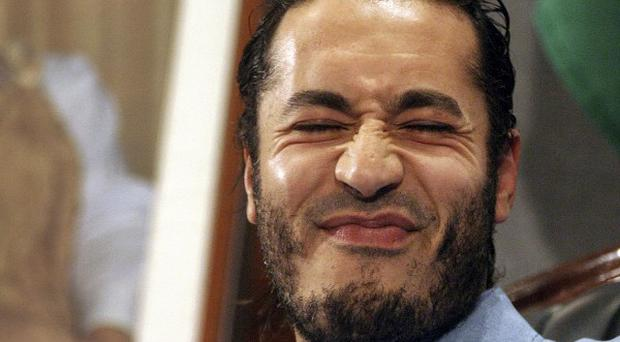 Al-Saadi Gaddafi is trying to gain political asylum in Niger (AP)