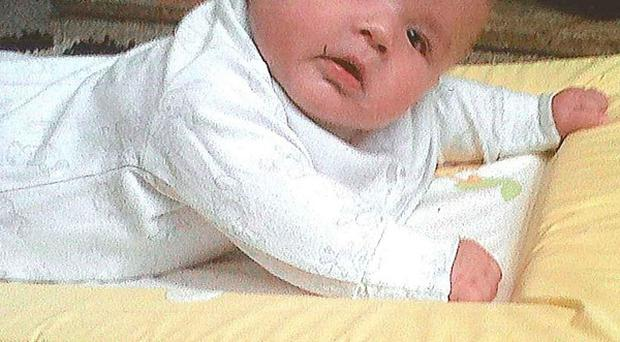 Six-month-old Ollie McBride died after being found in a 'very poorly condition' at a house in Preston