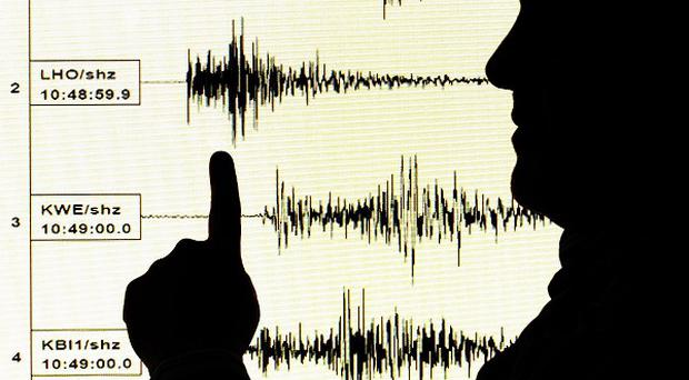 An earthquake has rattled Fiji in the Pacific Ocean