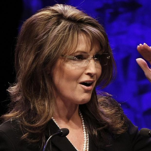 Sarah Palin, the former Alaska governor and 2008 Republican vice presidential nominee