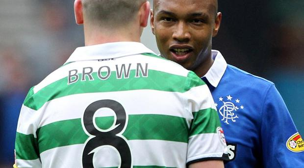 Scott Brown confronts El Hadji Diouf and more Old Firm sparks could fly