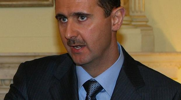 Seventeen people were killed protesting against the rule of Syria's President Bashar Assad activists said